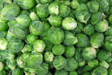 Brussels Sprouts In Market