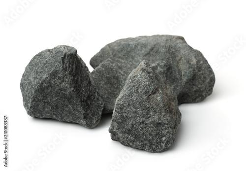 Fotomural  Crushed granite stones