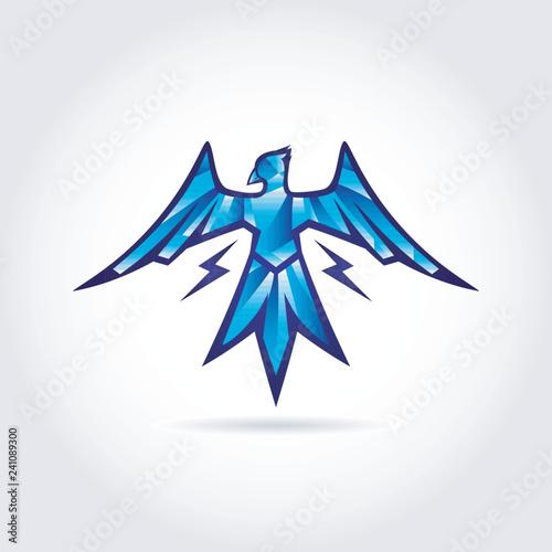 Fotografia Thunder Bird Logo Symbol