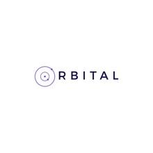 Orbit Orbital Logo Vector Icon Illustration Logomark Lettermark
