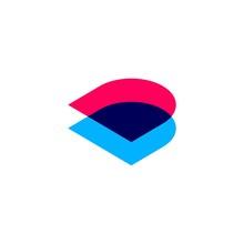 D Dd Letter Logo Vector Icon O...