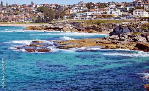 Spoed Foto op Canvas Oceanië Bondi to Coogee coastal walk, Sydney, Australia