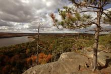 Beautiful Autumn In Algonquin Provincial Park