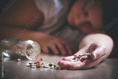 Fotografia  Dangerous Pills Addiction