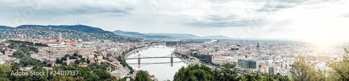 Montage in der Fensternische Budapest Budapest panoramic photo