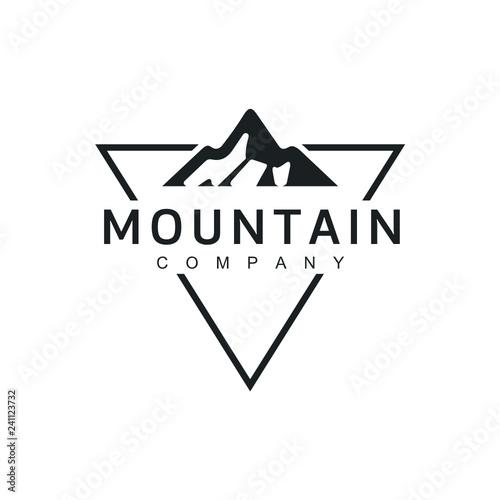 Minimalist Landscape Hills Logo Design Inspiration Vector Buy