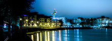 Bristol Harbourside At Night