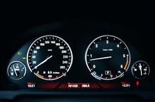 Modern Car Dashboard With Adjustment