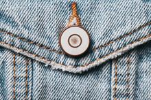Blue Jeans Denim Fabric. Grung...