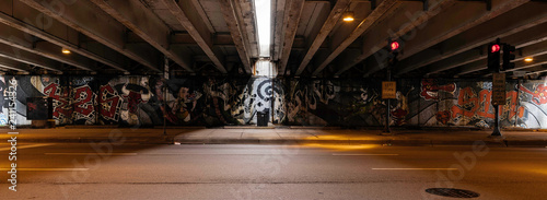 Spoed Foto op Canvas Graffiti chicago graffiti