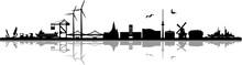 Skyline Wilhelmshaven Cityscape