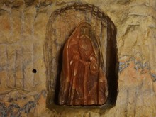 Salt Sculpture (miner, Ghost) In Underground Salt Mine
