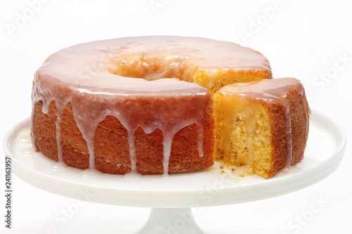 cornmeal cake with sugar syrup Wallpaper Mural