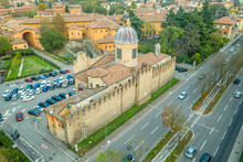 Aerial View Of The Church Of M...