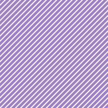 Diagonal Stripes Seamless Pattern - Thin White Diagonal Stripes On Light Purple Background
