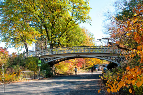 Foto op Canvas Amerikaanse Plekken Autumn in Central Park, New York City