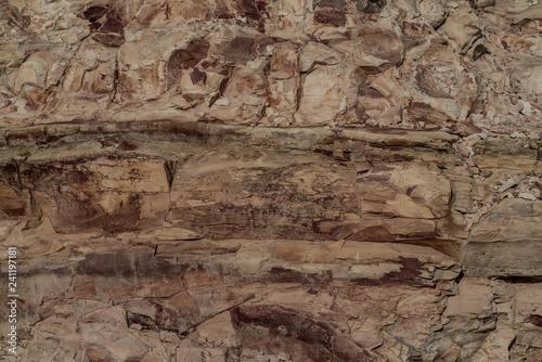 Poster Vieux mur texturé sale Stone Rock Texture
