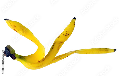Banana yellow peel risk