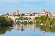 panoramic view of zamora city, Spain