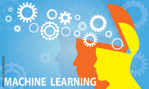 Photographie Machine Learning Business Technology Concept