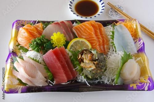 刺身の盛り合わせ お刺身 切り身 シーフード sashimi