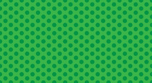 Green Polka Dot Background