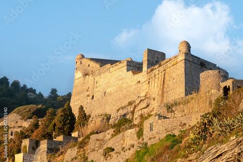 Doria Castle, Portovenere, Liguria, Italy Tablou Canvas