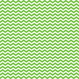 Chevron Seamless Pattern - Small lime green and white chevron or zig zag pattern - 241255557