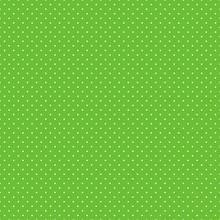 Polka Dots Seamless Pattern - Tiny White Polka Dots On Lime Green Background