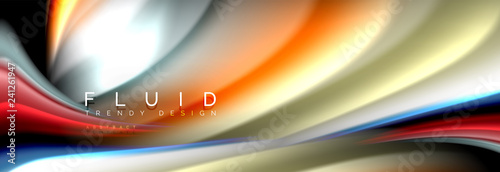 Creative line art. Banner background. Abstract motion. Graphic modern pattern. Abstract business background.