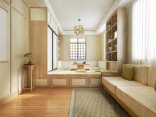 3d Rendering Japanese Style Li...