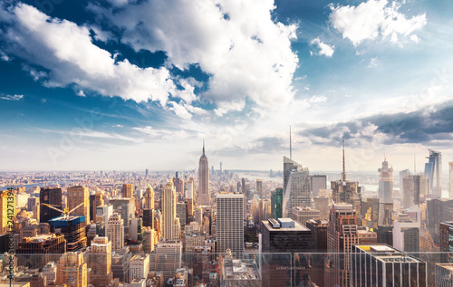 Fotografie, Obraz  cityscape of modern city in new york