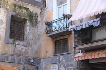 Fototapeta na wymiar Napoli, centro storico