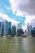 マリーナベイのビル群(シンガポール)