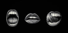 Emotional Lips Set. Passion Of...