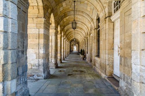 Canvastavla Architecture in Santiago de Compostela, Spain