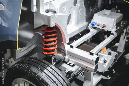 Obraz na plátně suspension system of the car