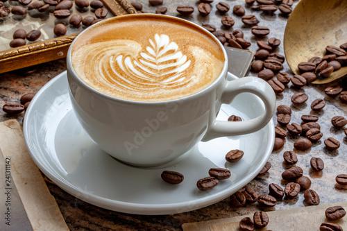 Fototapety, obrazy: Kaffee Latte Art