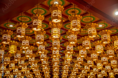 Full frame chinese lanterns Tapéta, Fotótapéta