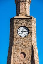 Clock Tower In Daytona Beach Florida