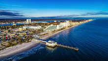 Aerial View Of Daytona Beach, Florida FL
