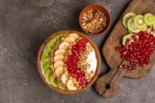 Vanilla Acai Bowl With Kiwi, B...