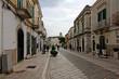 Canosa di Puglia; Corso San Sabino che porta alla Cattedrale
