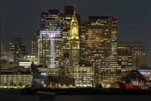 View Of Skyline Of Boston At N...