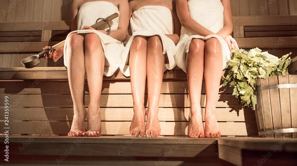 Fototapeta sauna women's day