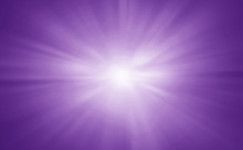Abstract Purple Rays Exploding Banner Background.