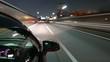 移動映像 国道23号 夜間インターバル撮影