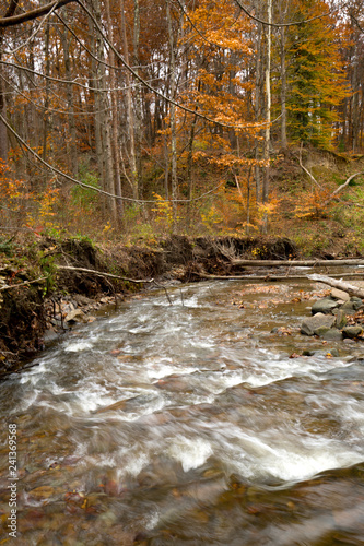 Tuinposter Brandywine Creek in Cuyahoga Valley National Park in northern Ohio.