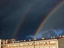 Benevento - Arcobaleno Doppio Su Tetto Fotovoltaico