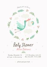 Baby Shower Invitation Templat...